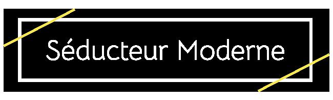 logo seducteur moderne seduction drague gentleman actuel développement de soi